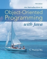 Introduction to Object Oriented Programming with Java