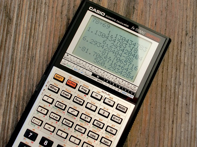 Calculatrice scientifique High Tech